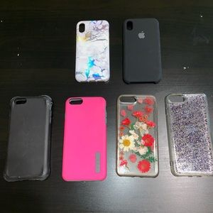 iPhone cases-Used